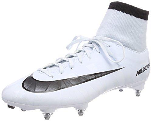 Nike Herren Mercurial Victory Vi Cr7 Df Sg Fußballschuhe, Weiß Blanc/teinte Bleue/Noir, 41 EU