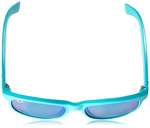 Ray-Ban - Lunette de soleil Rb4202 RB4202 Wayfarer 60723R: Matte Turquoise