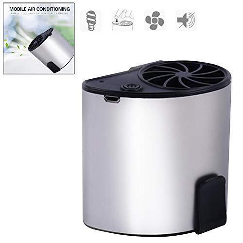 Neborn Tragbare Mini 3 Speed Mobile Klimaanlage Kleine Fan USB Aufladbare Hängen Taille Persönlichen Fan für Travel Outdoor Camping Size 2 pcs