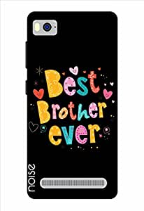 Noise Best Brother Ever-Black Printed Cover for Xiaomi Mi 4I