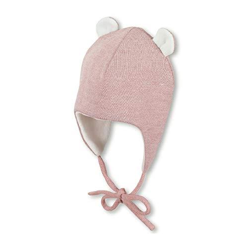 Sterntaler Inka-Mütze für Mädchen mit abstehenden Öhrchen, Gefüttert, Alter: Alter: 3-4 Monate, Größe: 39, Rosa