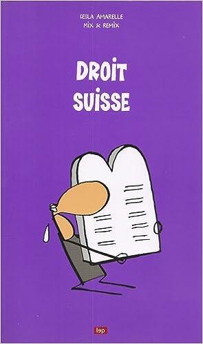 Livre Droit Suisse pdf, epub
