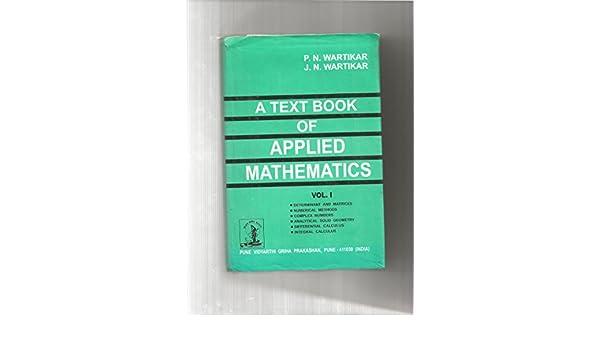 Applied Mathematics Books Pdf