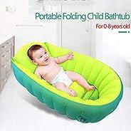 حوض استحمام محمول قابل للنفخ، مضاد للانزلاق ومضاد للسقوط قابل للطي، قابل للطي وقابل للطي، حوض استحمام صغير للسباحة، حوض استح