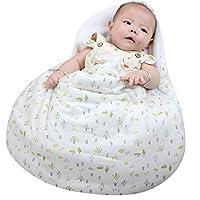 Baby Sleeping Bag, KAKIBLIN Baby Wrap Blanket Anti Kick Sleeping Sack for 0-6 Months, Stroller Wrap Swaddle, Egg Style