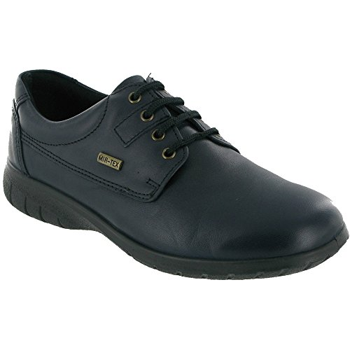 Cotswold Ladies Ruscombe Lace Up Leather Waterproof Casual Shoe Brown brown