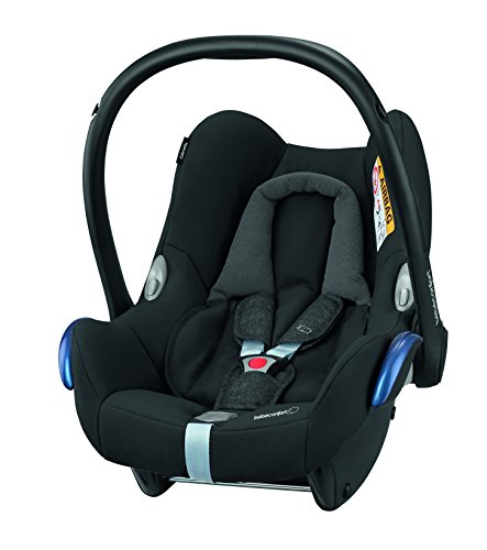 Bébé Confort, Silla de coche grupo 0+ Isofix, negro (Nomad Black)