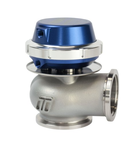 Turbosmart TS-0505-1009 WG40 Compgate 40mm Ext Wastegate 14 PSI Blue