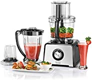 Black+Decker 800W 41 Function 4-in-1 Food Processor, Black/Silver - FX810-B5, 2 Year Warranty