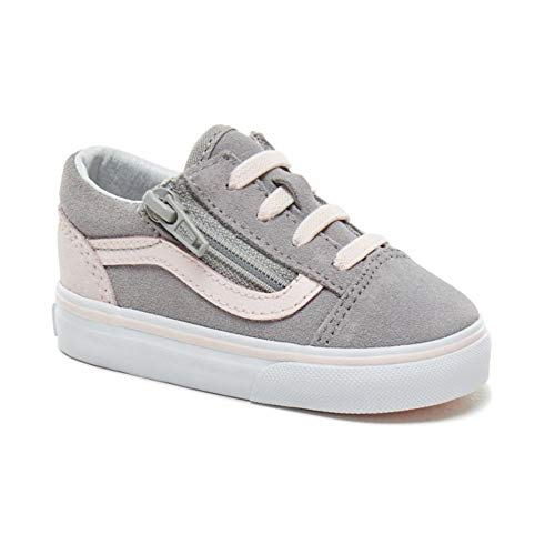 Vans Old School Valcanised, Unisex-Kinder Sneaker, Pink - Alloy Heavenly Pink White - Größe: 22.5 EU -