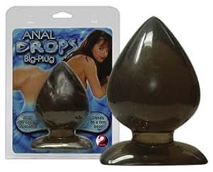 Anal Drops Anal Plug Grand en Noir