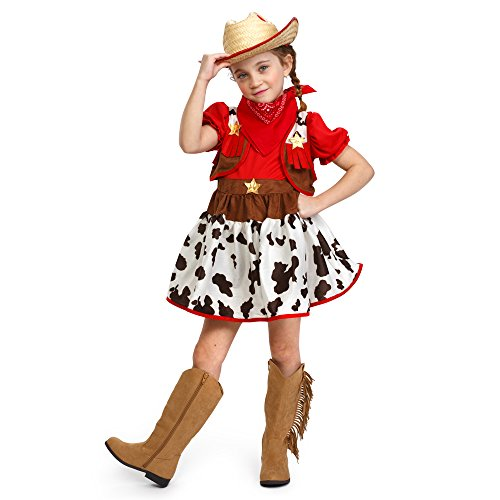 Dress Up America 882 - Mädchen Cutie Star Cowgirl Fancy Kostüm, Kleinkind T2