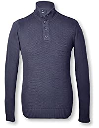 TIFFOSI - Pull homme manches longues col montant