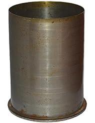 Original WH Wehrmacht Cartucho calibre: 10,5 cm la artillería para la Obús del campo de 1937 - 1944