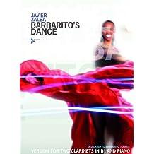 Partitions classique ADVANCE MUSIC ZALBA J. - BARBARITO'S DANCE - 2 CLARINETS AND PIANO Clarinette