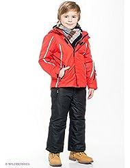 CMP–F. lli Campagnolo, completo Esquí niño (Chaqueta + Pantalón) 3W05544, rojo/negro, 110 (5 ANNI)