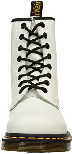 Dr. Martens 1460 Smooth, Stivaletti Unisex – Adulto Bianco (1460 Smooth 59 Last White)