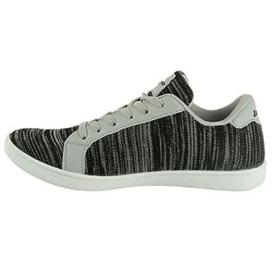 Buy Lotto Men Knitted Sneaker Grey