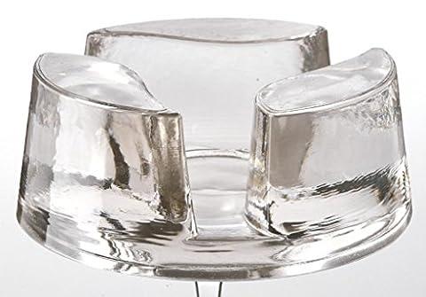 Montana Universalstövchen Teatime aus Glas passend für sämtliche Teekannen von Leonardo und Montana Durchmesser des Stövchens: 13,3