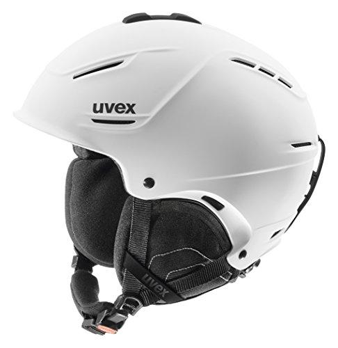 Uvex Casco Da Sci P1Us - 55-59, Bianco Mat