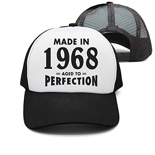 f0be3ac4 Personality Cap Hats Aged To Perfection 1968 Hipster Unisex Cotton Denim Dad  Hat Adjustable Plain Cap