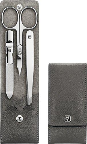 Preisvergleich Produktbild Zwilling Maniküre Classic Inox Taschen-Etui 3tlg anthrazit