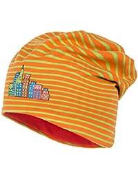 maximo Kids - Beanie Short, Ringeljersey - Bonnet - Fille