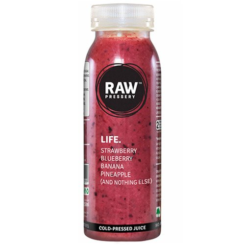 Raw Pressery Fruit Juice - Life, 250ml Bottle