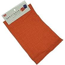Japanese Furoshiki involucro di stoffa, colore arancione, 50cm x 50cm