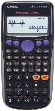 Casio FX-83GTPLUS - Calculadora científica (Importado)