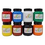 Artcraft Premium Bright Fabric Paints 8 x 100ml