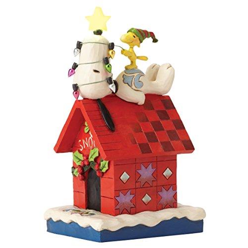 Enesco Merry & Bright (Snoopy & Woodstock) (Woodstock Hund Spielzeug)