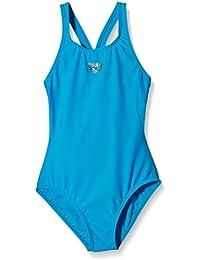 Arena Badeanzug Maltosys - Body de competición para niña, color azul cielo, talla 152 cm