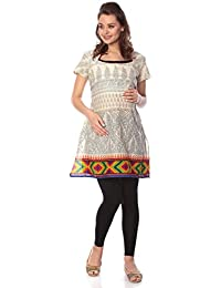 629795c1dc9 Goldstroms Women Maternity Feeding Nursing Printed Kurti with Horizontal  Zipper (Multi-Color
