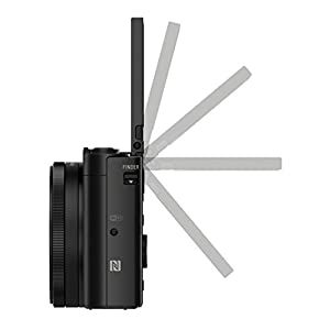 Sony-DSC-HX90-Kompaktkamera-75-cm-3-Zoll-Display-30x-Opt-Zoom-60x-Klarbild-Zoom-Weitwinkelobjektiv-NFC-WiFi-Funktion-Superior-iAuto-Modus-5-Achsen-Bildstabilisator-Full-HD-Video-Schwarz