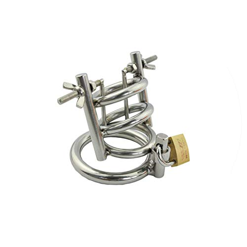 For Couples Stainless Steel Male Chastity Device Plug Urethral Sounding Cages Pneis Cage Toys Man,50mm Heritage-crystal-crystal