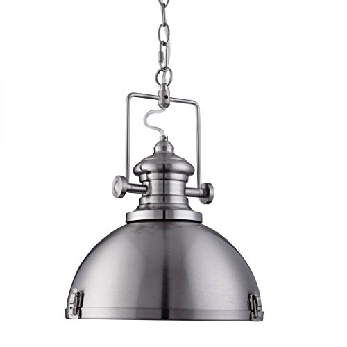 searchlight-industrial-pendant-1-light-satin-silver-clear-lens