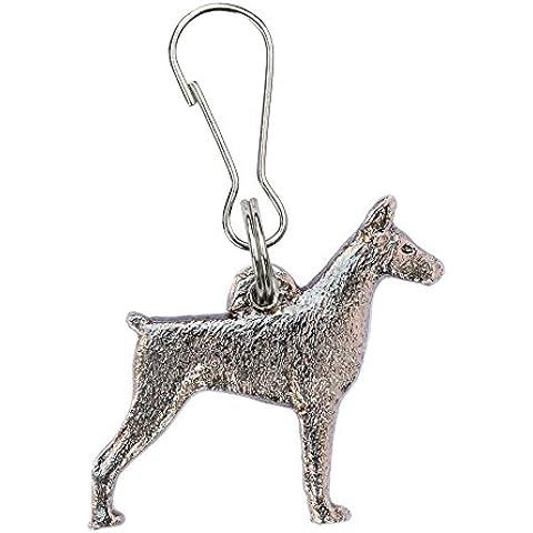 Dobermann (con le orecchie tagliate) Made in UK, Collezione Tiretto Artistici Stile Cani