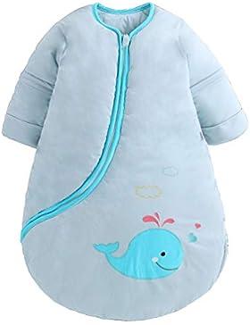 Baby Schlafsack Wearable Decke Herbst & Winter verdickt Warm gefüttert Schlafsack Baby Anti Kick Schlafsack 3.5tog