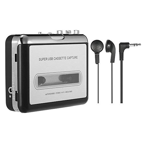 ettenspieler Portable Tape Player Captures Kassettenrekorder ueber USB Kompatibel mit Laptops und PC konvertieren Tape Kassetten in iPod/MP3/CD Format mit Kopfhrer ()