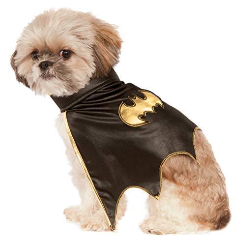 Batgirl Haustier Kostüm - Rubies Costume Company DC Comics Haustier-Kostüm Batgirl-Umhang