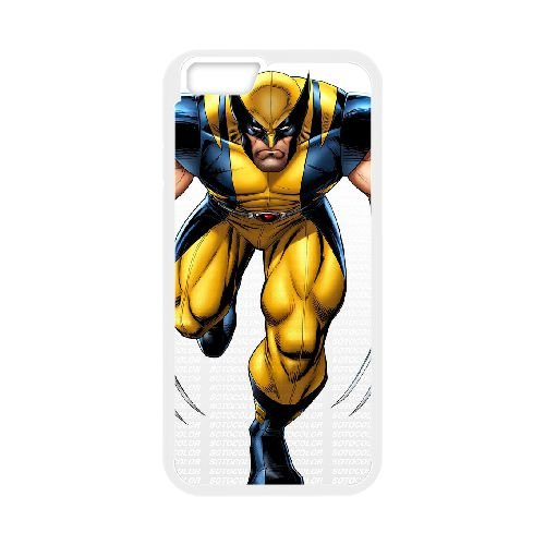 Wolverine iPhone 6 Plus 5.5 Inch Cell Phone Case White M3808271