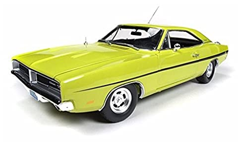 1969 Dirty Mary Crazy Larry Dodge Charger R/T, Green - Auto World Silver Screen Machines - 1/18 scale diecast model car by Auto World