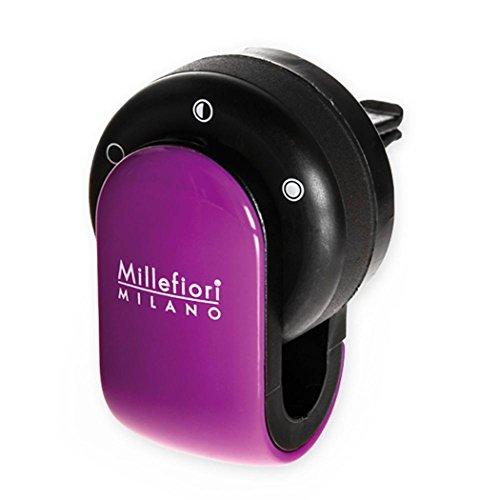 Millefiori 8059265190010 Diffusore di prufumo per Auto Go Colore Viola, Multicolore, U