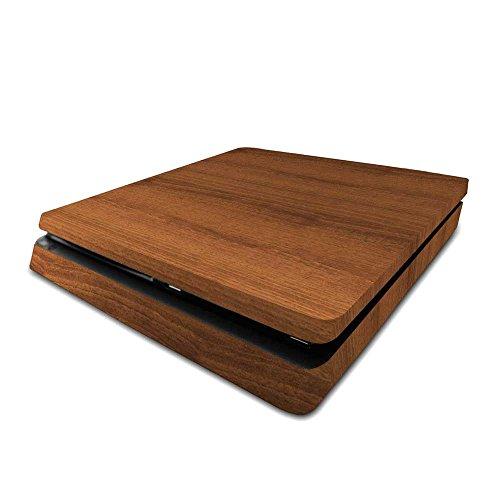Playstation 4 Slim PS4 Slim Skin Mahogany Wood Console Skin / Cover/ Wrap for Playstation 4 Slim