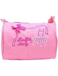 Whchiy Lovely Dance - Bolsa de Deporte con Bolsa de Baile para niñas 2b1e808736df2
