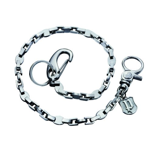 Police Schlüsselkette Edelstahl 55,8cm PJ22014CSS/01 (Schlüsselanhänger Sterling)