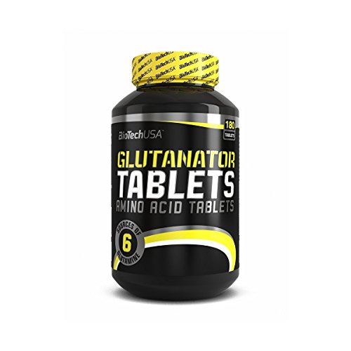 GLUTANATOR TABLETS - Biotech Usa - L-Glutammina 180 tav - 41UfocROClL