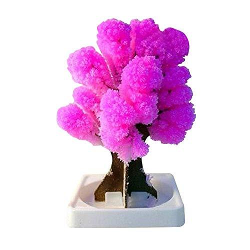 Fcostume Weihnachtspapier-Baum, der kreative Bunte magische wachsende Baum Toy Crafts blüht (Mehrfarbig)