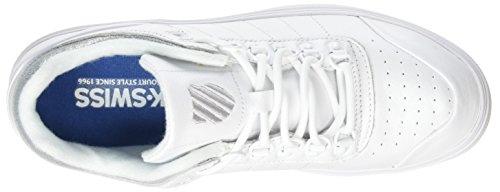 K-swiss Gstaad Neu Baskets Basses Et Athlétiques Blanches (blanc Irisé)